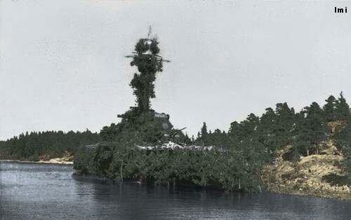 camouflaged+finnish+coastal+defence+ship