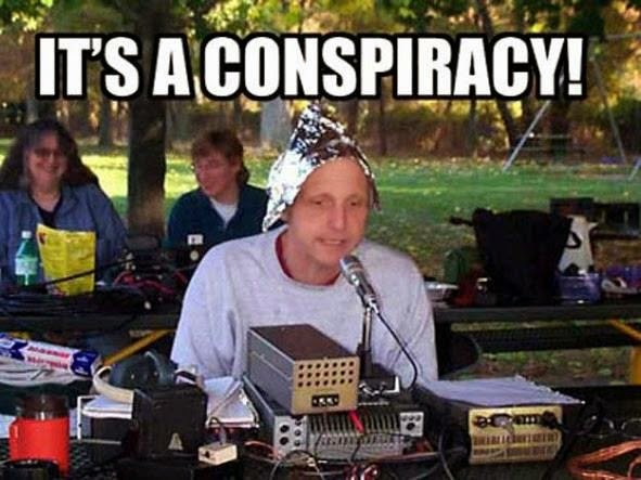 Bilderesultat for it's a conspiracy