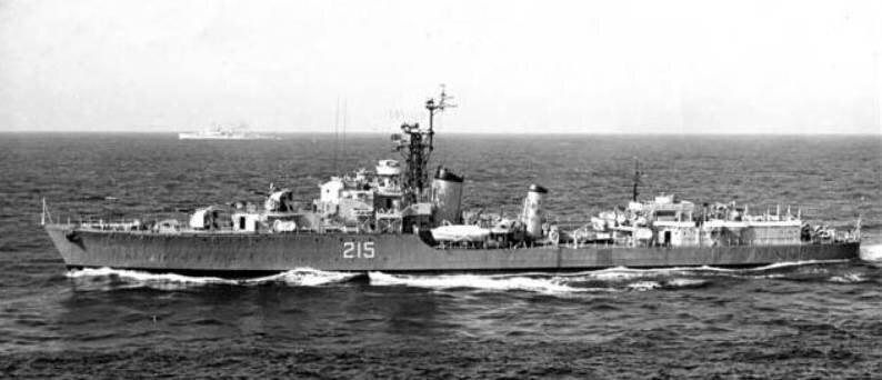 HMCS Haida DDE 215 G 63 Tribal class destroyer