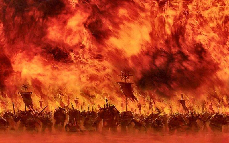 """Résultat de recherche d'images pour """"warhammer 40000 let the galaxy burn"""""""