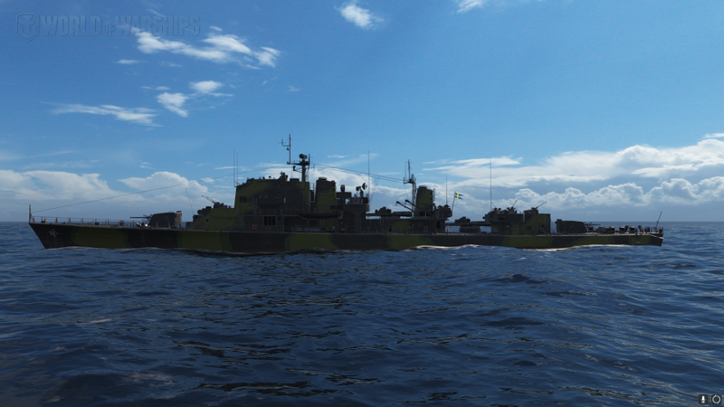 Camouflage On Swedish Destroyers Age Of Armour Warships World Of Warships Official Forum