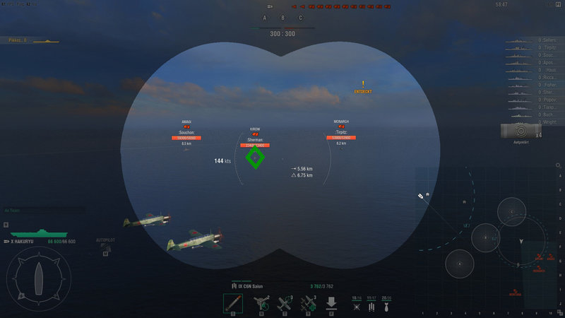 Suggestion: Reconnaissance aircraft for CV - Gameplay - World of Warships official forum