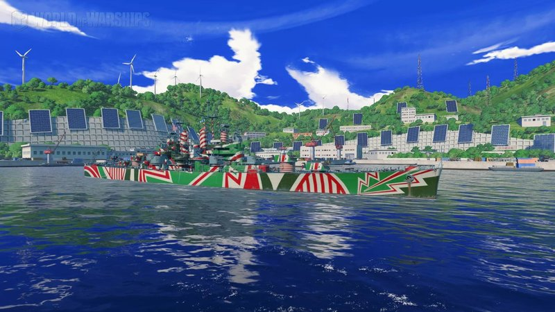 Cleveland's perma camo - General Discussion - World of Warships ...