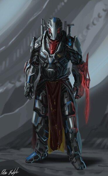 Captain Allister by PeterPrime on deviantART | Armor concept, Sci fi armor,  Sci fi concept art