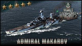 World of Warships - Admiral Makarov - Premium [ deutsch 🐄 gameplay ] -  YouTube