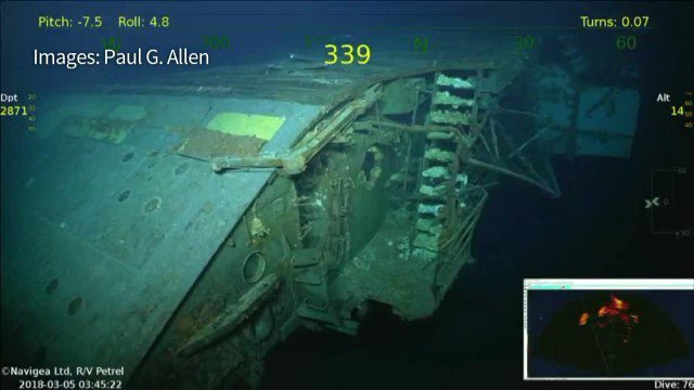 Image result for uss lexington found