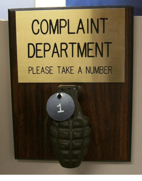 complaint-department-please-take-a-numbe