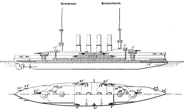 Scharnhorst_class_Brassey's.jpg