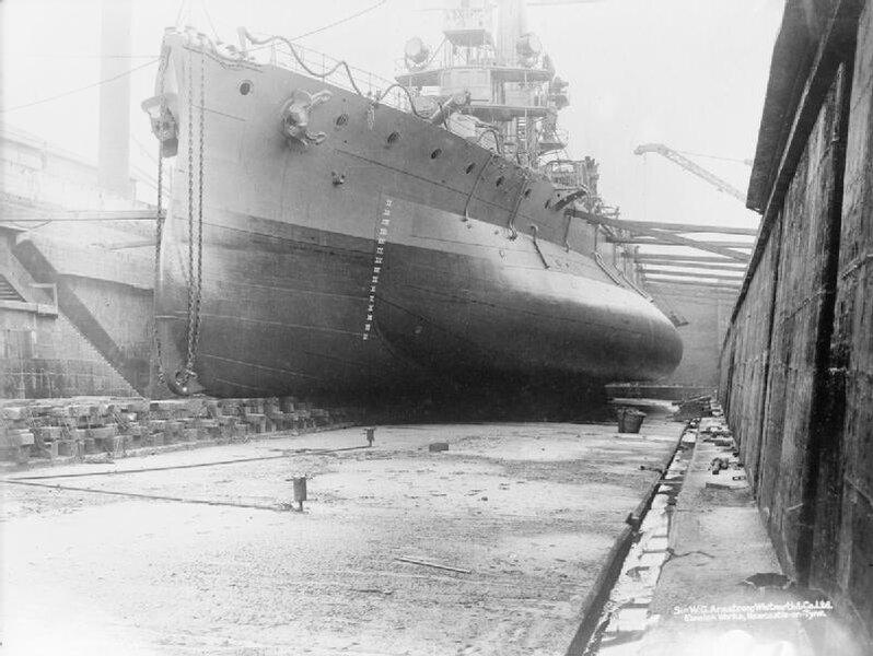 HMS_Glatton_in_drydock_IWM_SP_2083.jpg