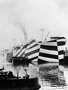 Znalezione obrazy dla zapytania kamuflaz okretów WWII