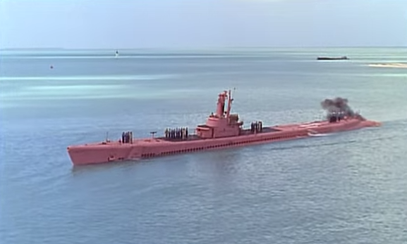USS_Balao_standing_in_for_Operation_Pett