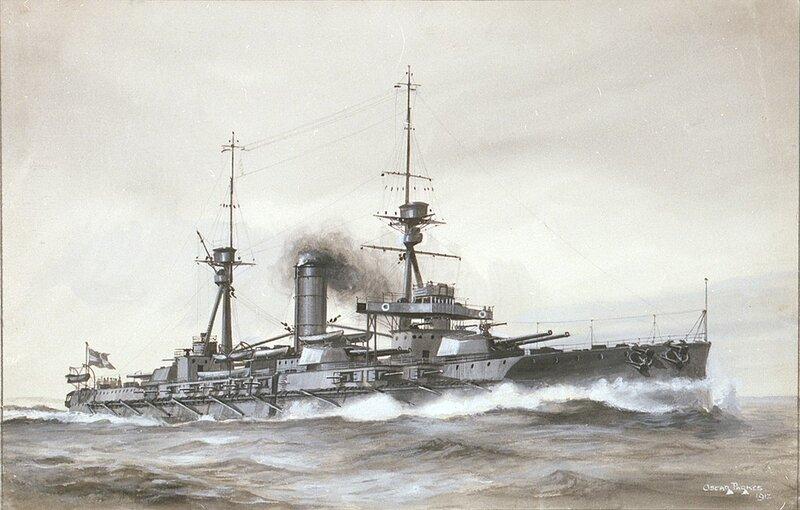 Spanish battleship Espana illustration by Parkes.jpg