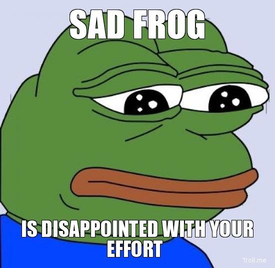 Image result for disappointed face meme