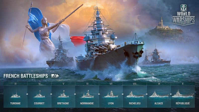 French Battleships - Archive - World of Warships official forum