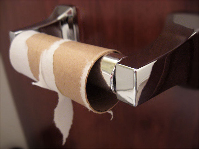 Empty Toilet Paper Rolls Will No Longer Be Tolerated