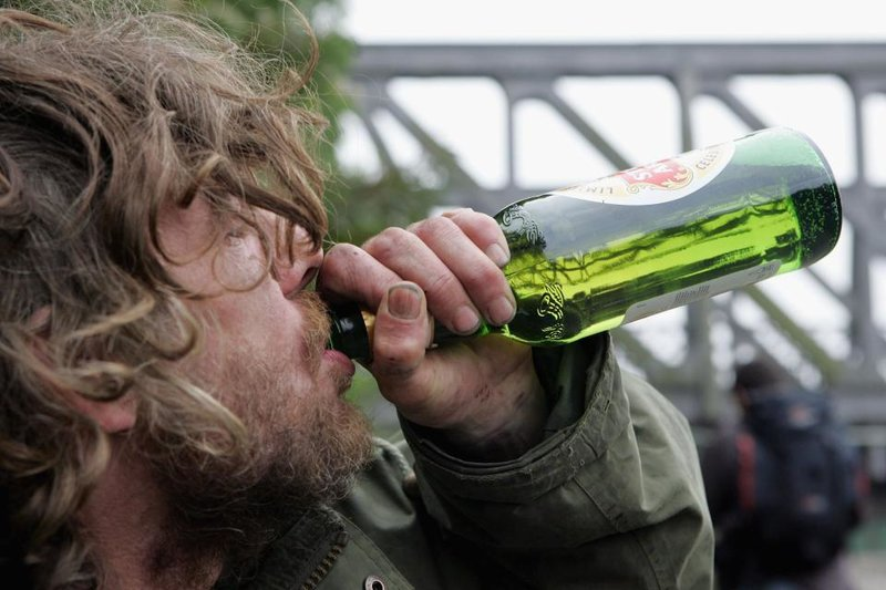 Homeless drinkers could be given booze 'on prescription' under new scheme  to help addicts